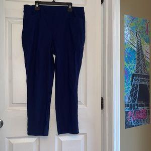 Chico's Navy Capri pants 1